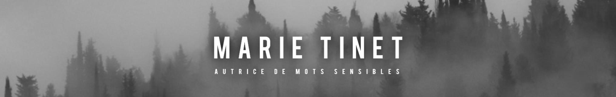 Marie Tinet - Autrice
